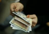 Imagini regizate cu bancnote, 8 noiembrie 2007. Foto: Andrei Spirache