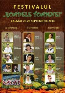 festivalul roadele toamnei calafat 2014